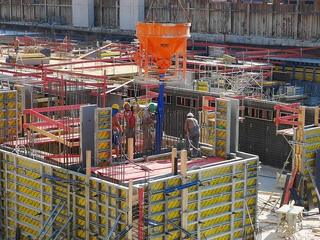 stavební dělníci